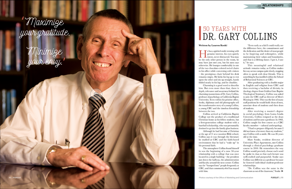 gary collins psychologist