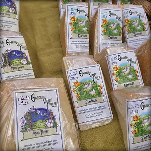 Garden Variety Cheese market