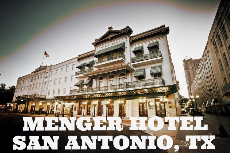 Menger Hotel in San Antonio, Texas
