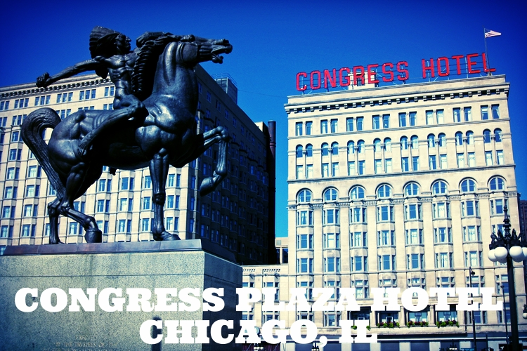 Congress Hotel in Chicago, Illinois