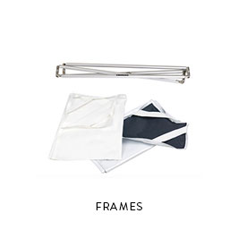 FRAMES  Chimera 4x6 breakdown travel frame  solid, white 1 ⁄ 4 grid, 1 ⁄ 2 grid 1 ⁄ 2 soft frost 1 ⁄ 2 Hampshire