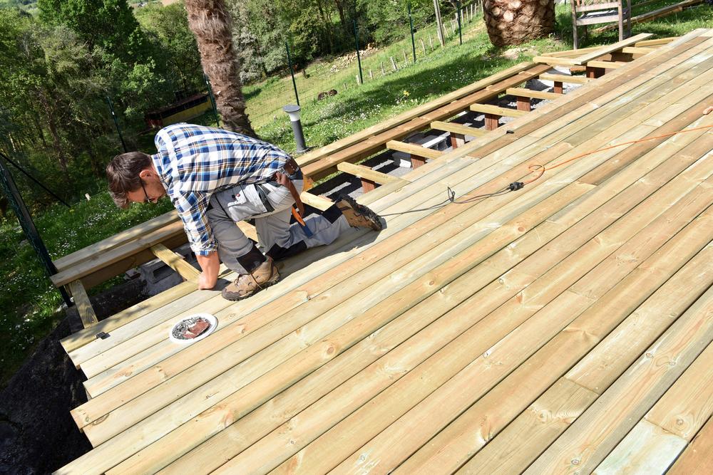 Building a termite smart deck