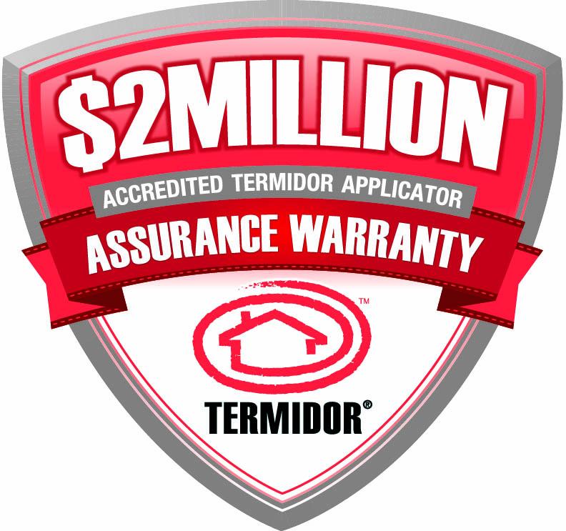 Termidor $2million warranty