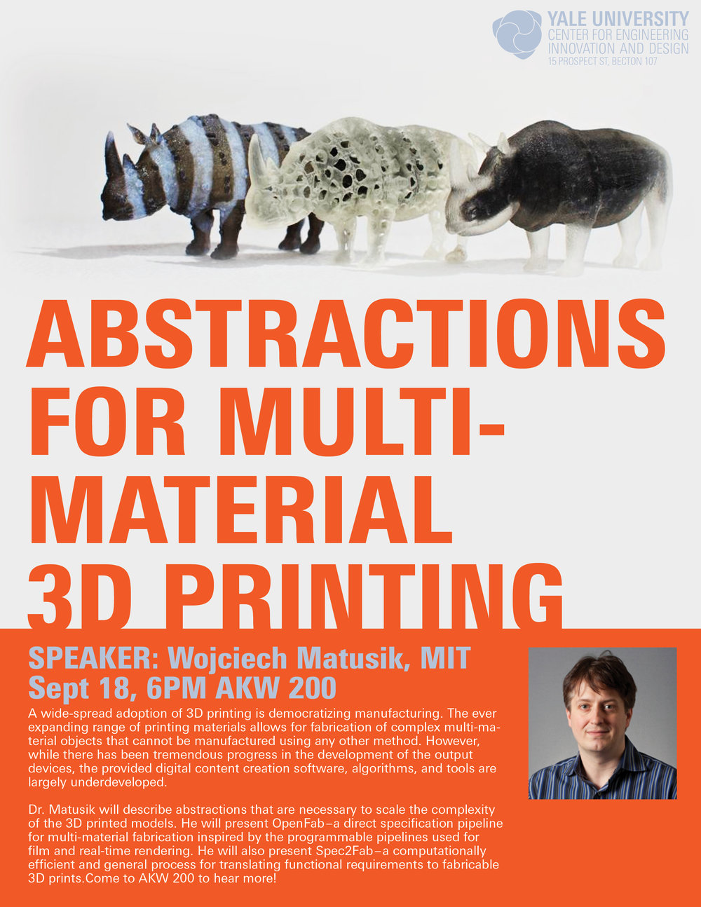 Abstractions for Multi-material 3D Printing