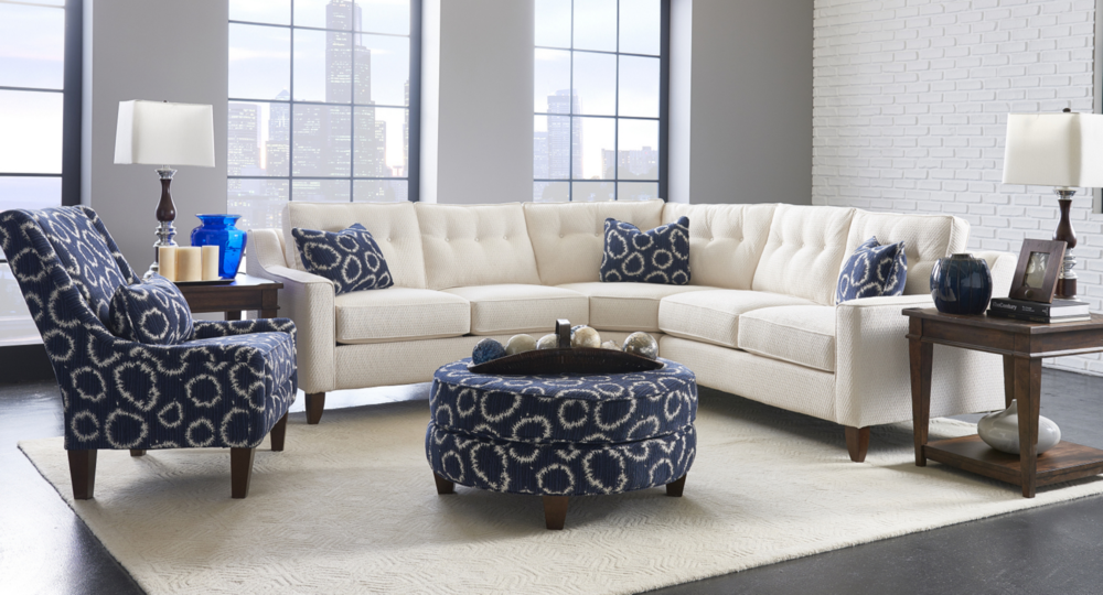 Klaussner Custom Sectionals