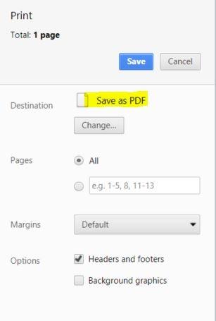 Shape Data Studio Save as PDF