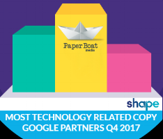 Paperboat Media: 186 Technology Related Words in Website Copy