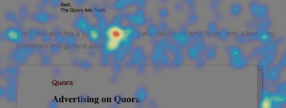 Quora's 3-page attachment SlideShare