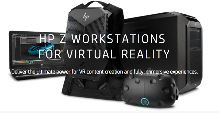 HP's VR workstation comes complete with Ghostbuster-esque backpack ( image source )