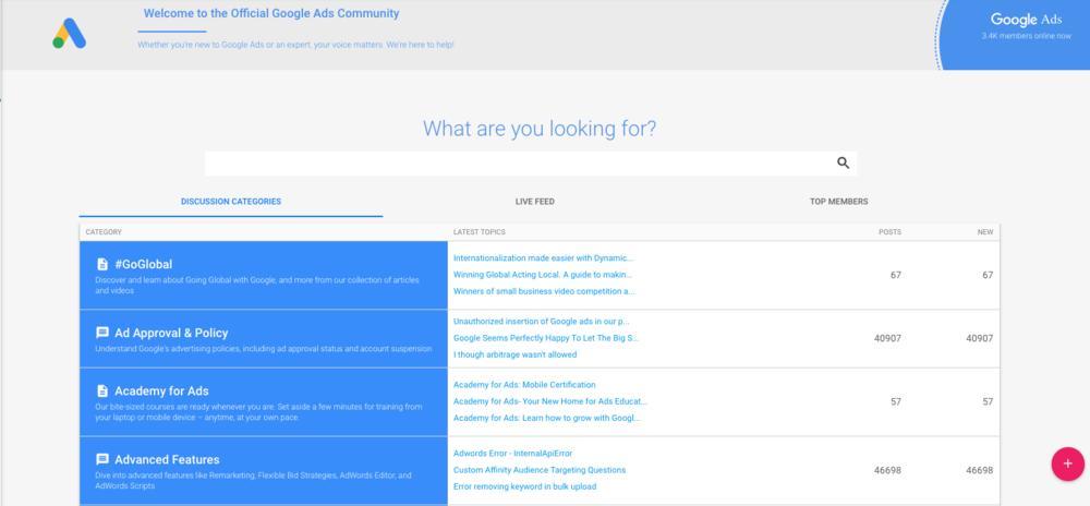 Google_advertiser_community_welcome