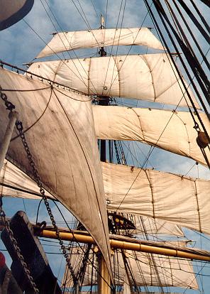 SORLANDET - under sail