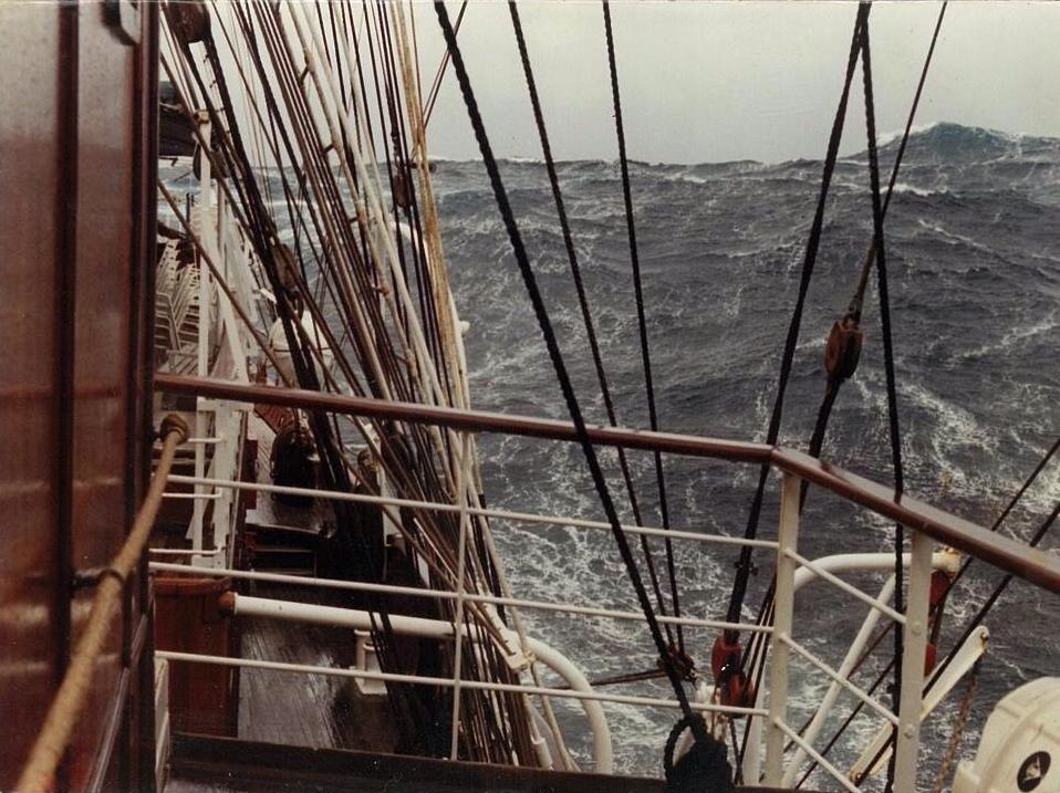 SEA CLOUD - trans-Atlantic crossing