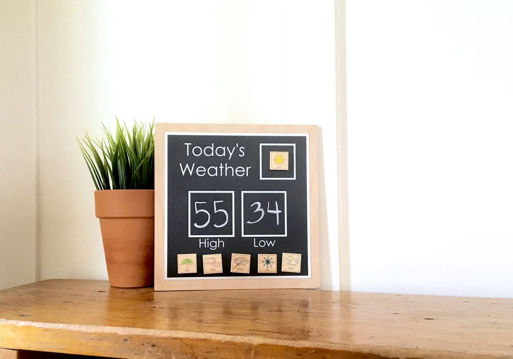 Family Fun - Weather Station