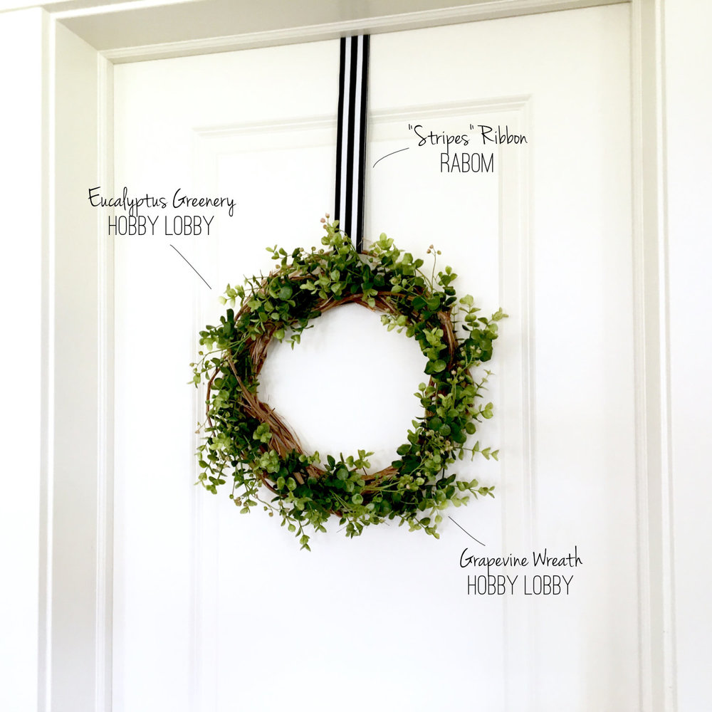 Green Wreath Elements