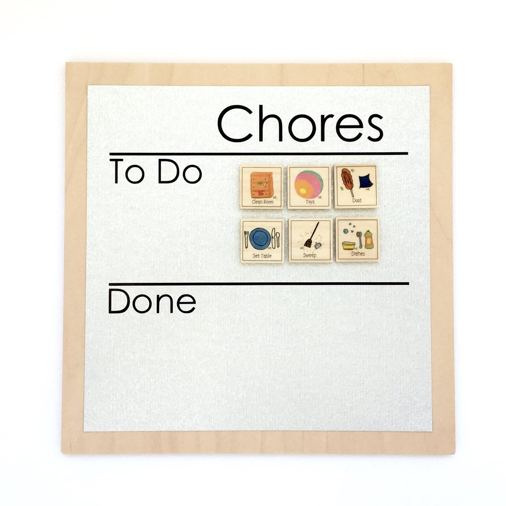 Family Organization - Simple Chore Chart