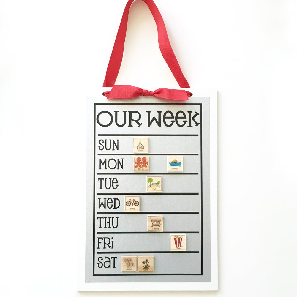9x13 weekly chart
