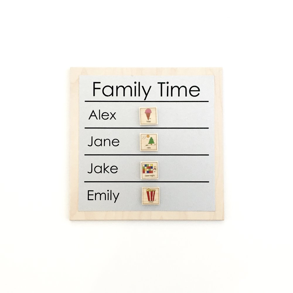 Family Night Chart