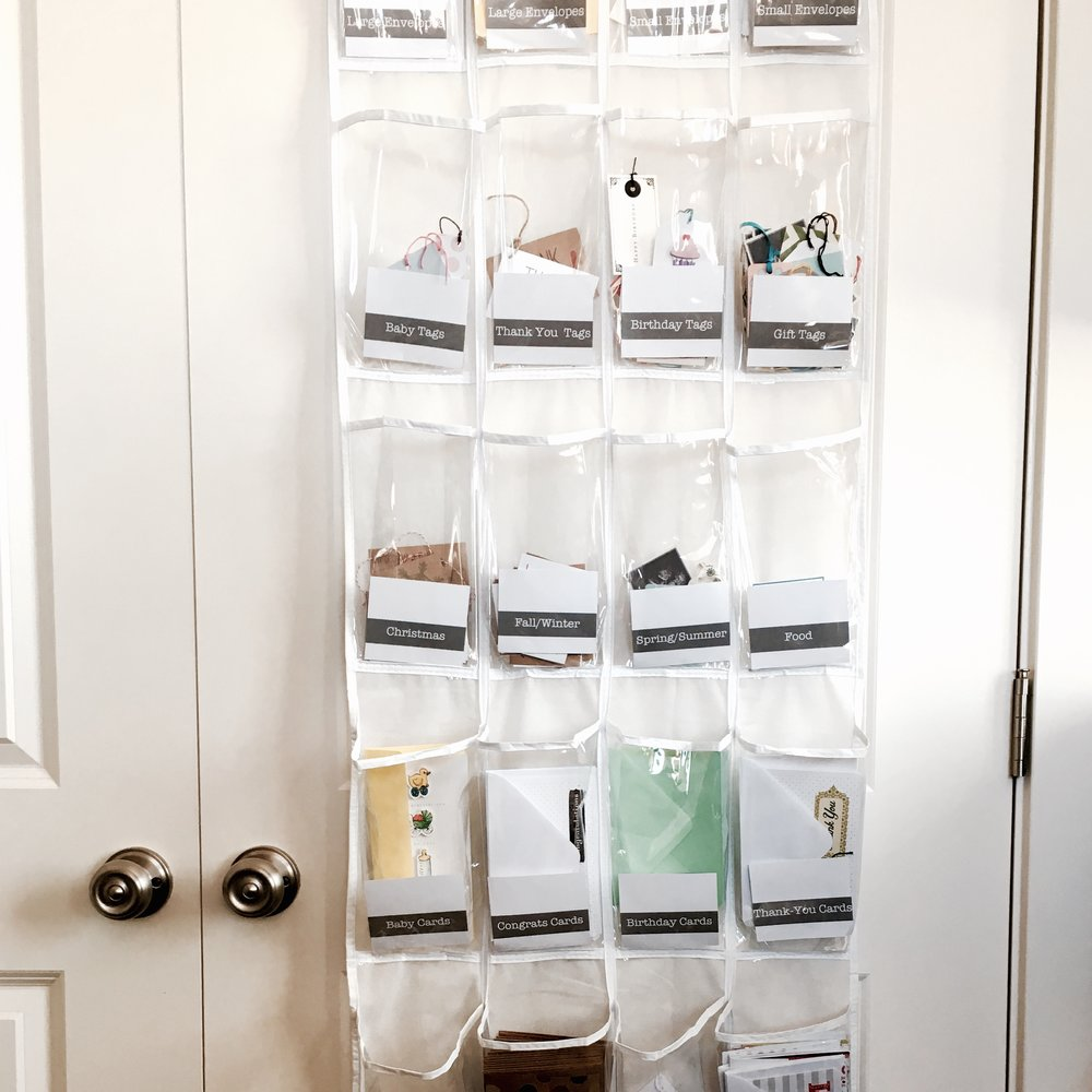 Greeting Card Organizer