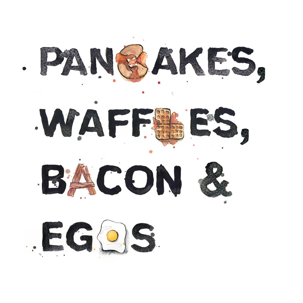 Pancakes, Waffles, Bacon & Eggs