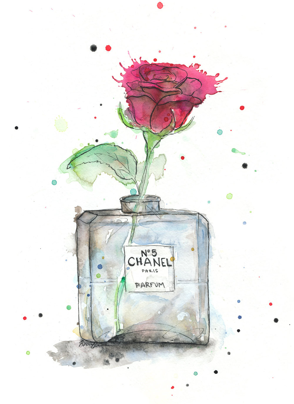Benjamin-Edward-Chanel-Number-5-No-5-Rose-watercolour-illustration.jpg