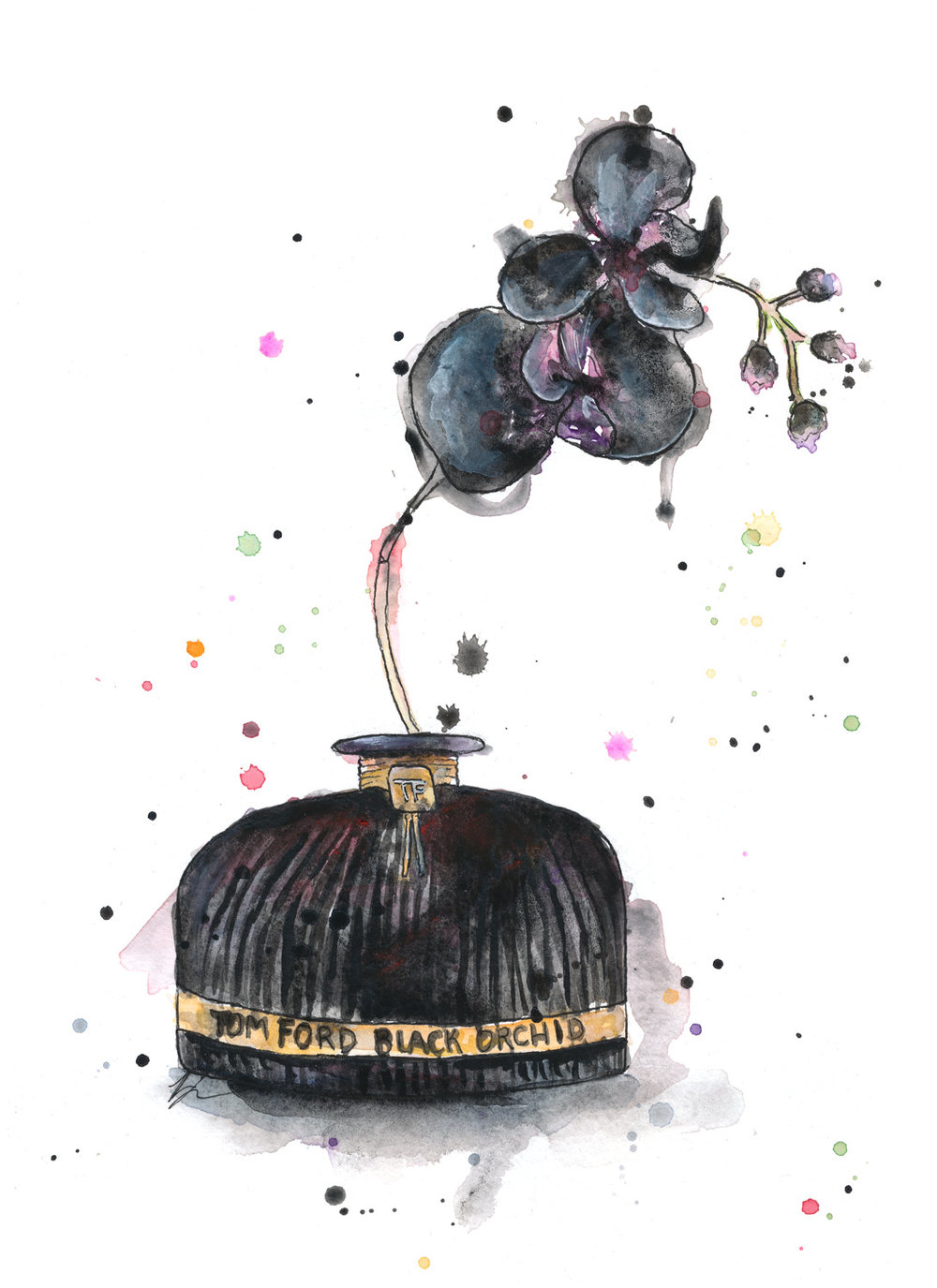 Benjamin-Edward-Tom-Ford-Black-Orchid-Perfume-watercolour-illustration.jpg