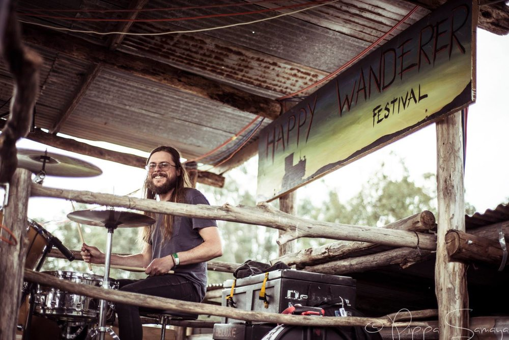 Credit Pippa Samaya_Happy Wanderer Festival 4_Drummer and sign.jpg