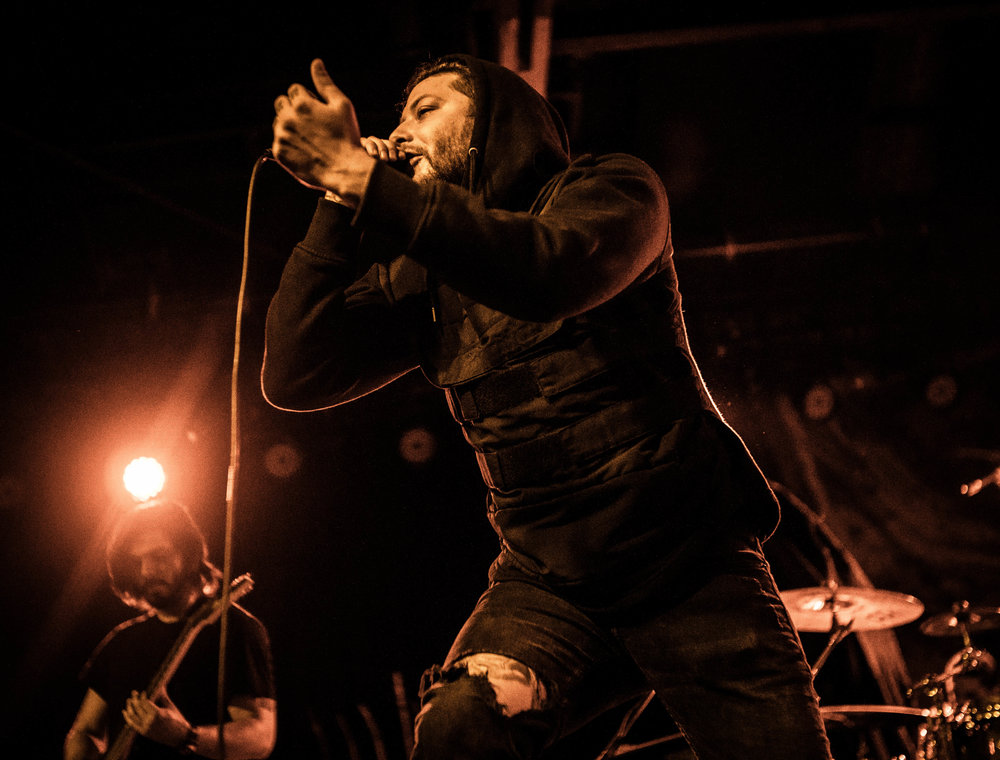 CONCERT REVIEW Lorna Shore The Glass House Pomona CA 040217