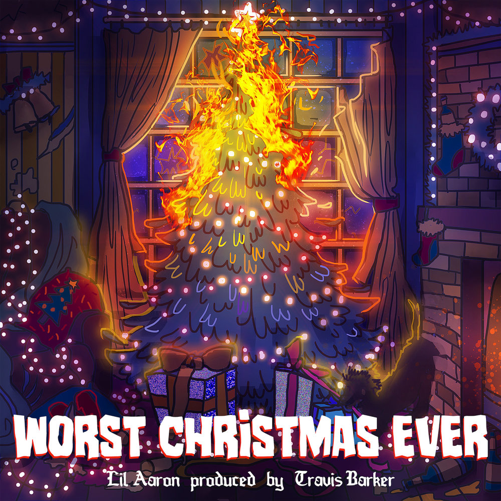 lil aaron__WORST CHRISTMAS EVER_ EP_Cover Artwork.jpeg