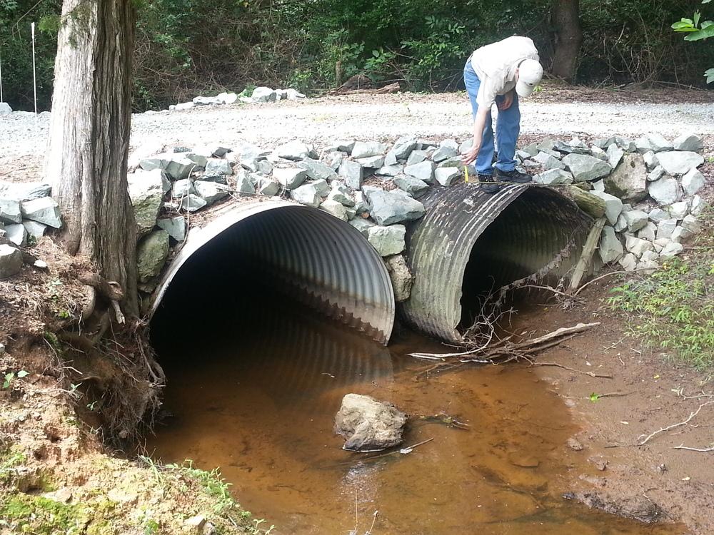 Culverts upstream of Bridge 670060