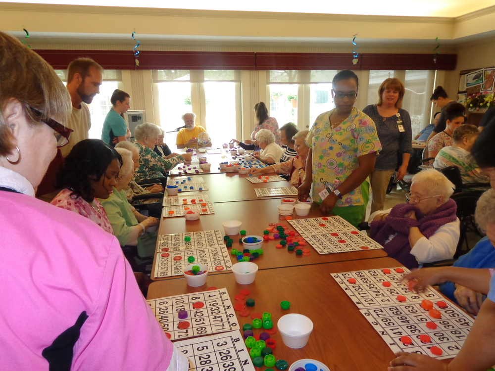 Nursing Home Week 2015 - Bingo Marathon