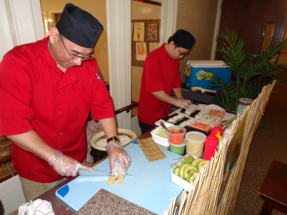 "National Nursing Home Week 2016 - ""Sushi Day"""