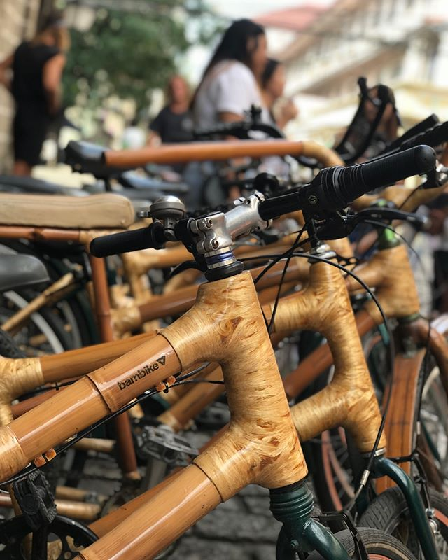 Thanks to our friend @bambryan founder of @bambikeecotours & passionate crew for having us as always 🙏🏻 Mark & Cedhie were so knowledgeable. Can't believe that #Intramuros was previously surrounded by water..! #bamboobikes #ecotourism 🎥 @brookehade