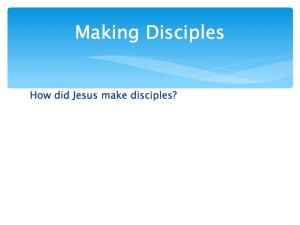 1 Developing Team and Making Disciples.011-001