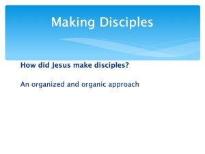 1 Developing Team and Making Disciples.012-001