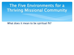 2 The Five Environments of a Thriving Missional Community.004-001