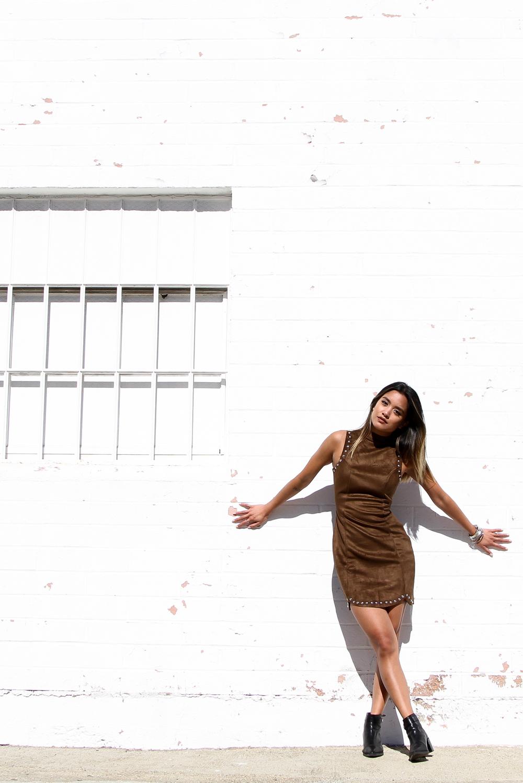 missguided dress | zara boots (similar) | phots by jon macarewa
