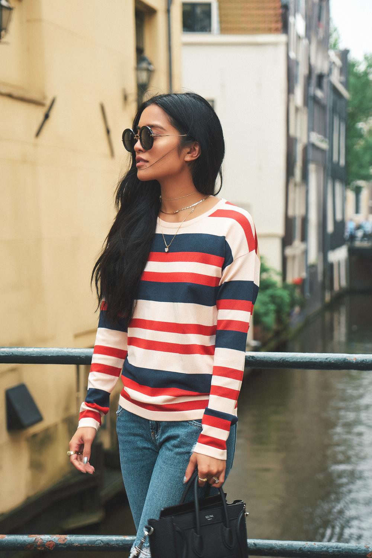 we are labels sweater  |  pacsun jeans  |  céline bag  |  miu miu sunnies  |   photos by sean martin