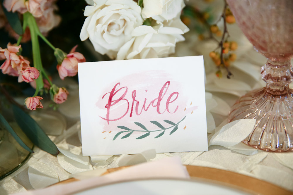 wedding place card calligraphy pricing hey bernadette houston texas
