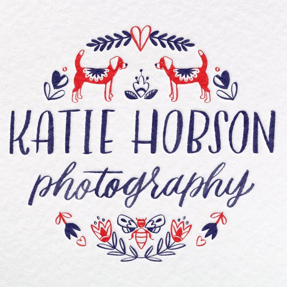 custom photography logo hey bernadette houston texas