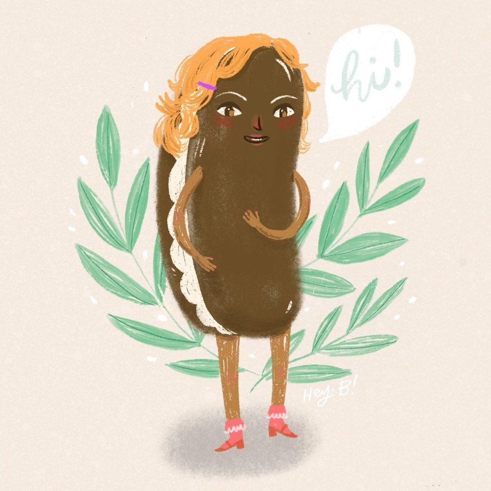 Snack Cake Illustration