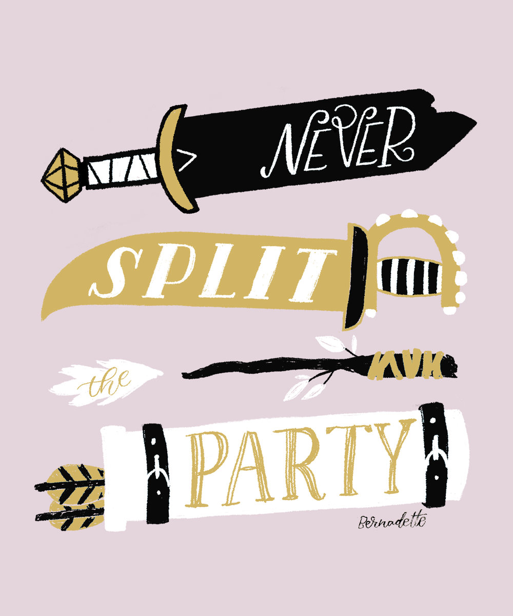 Never Split the Party