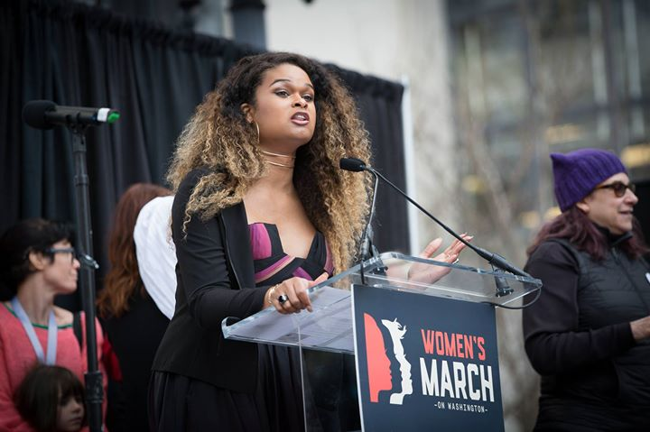 Image result for raquel willis women's march speech