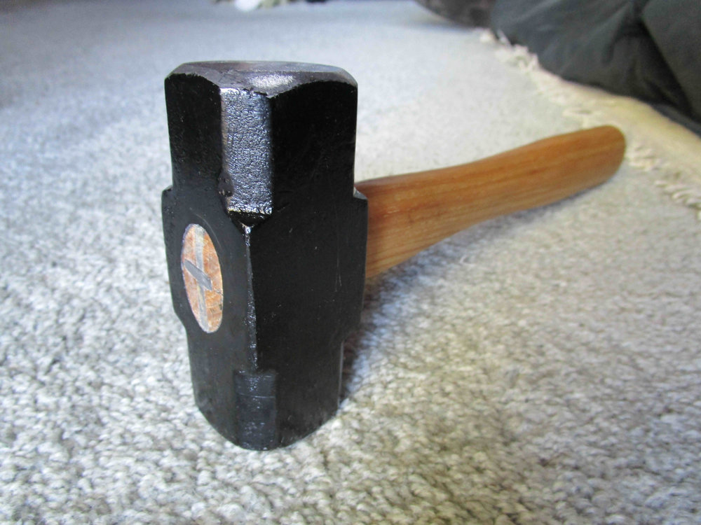 Completed hammer