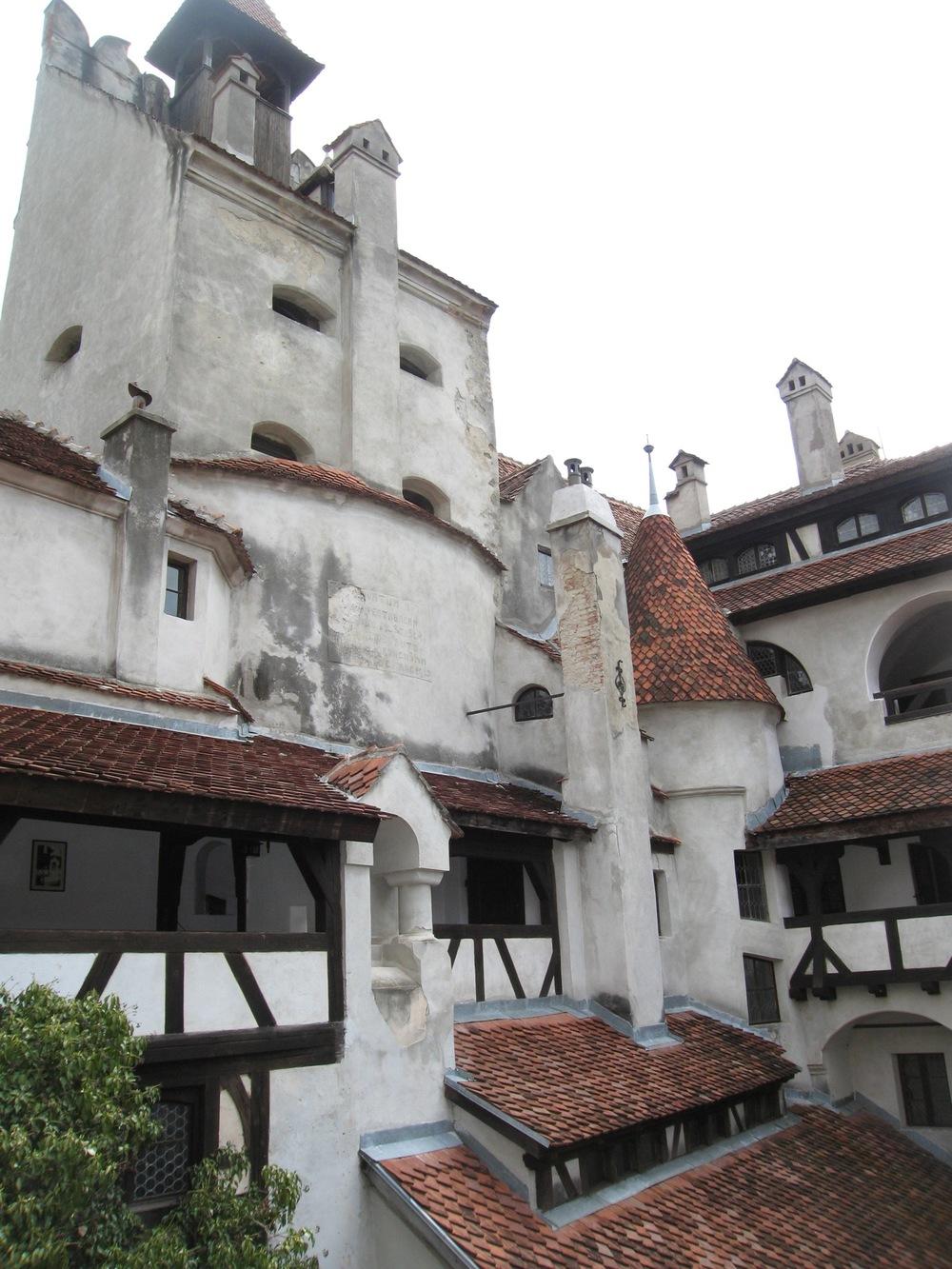 Inside Castle Bran
