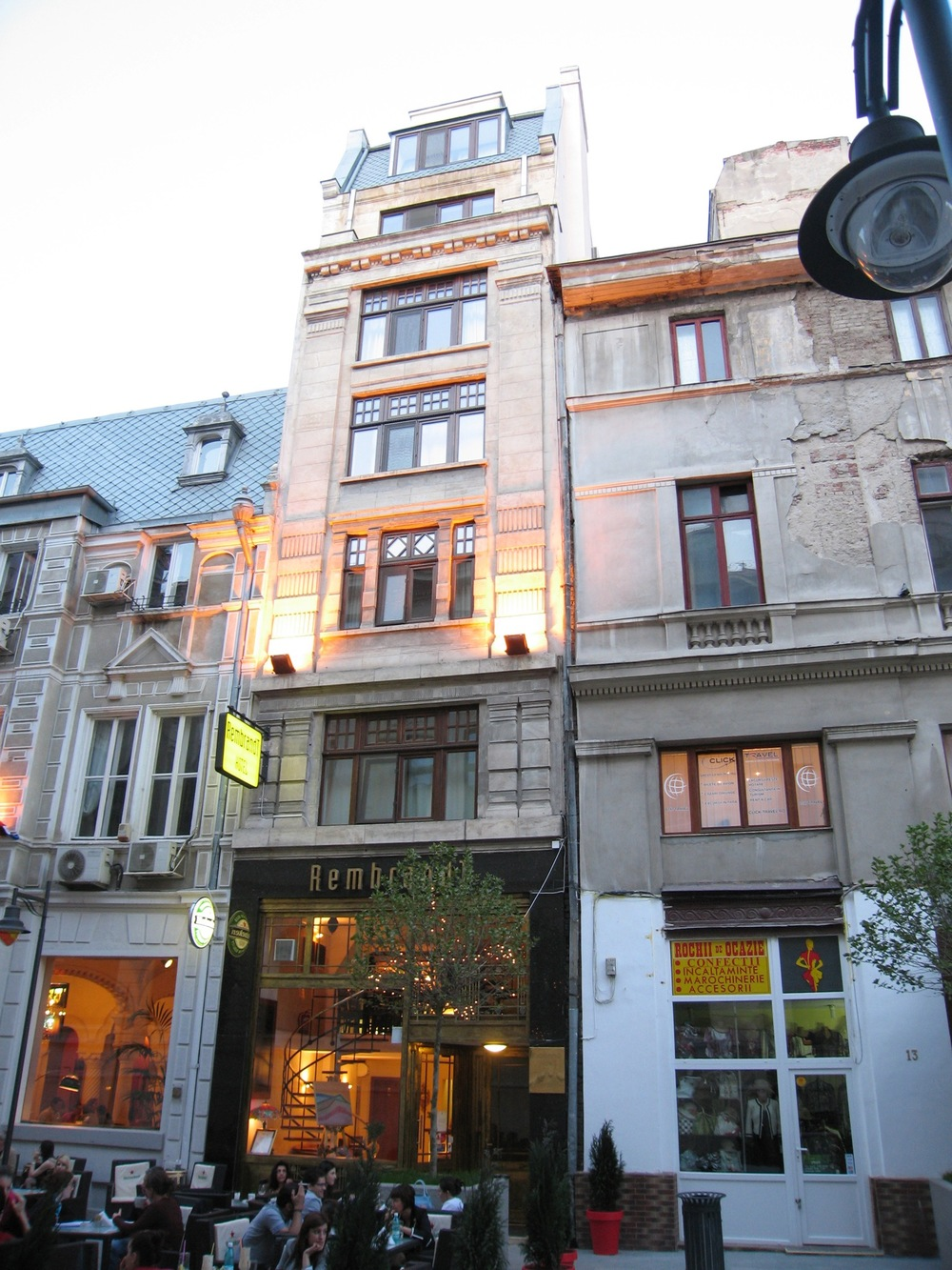 The Rembrandt Hotel in Bucharest