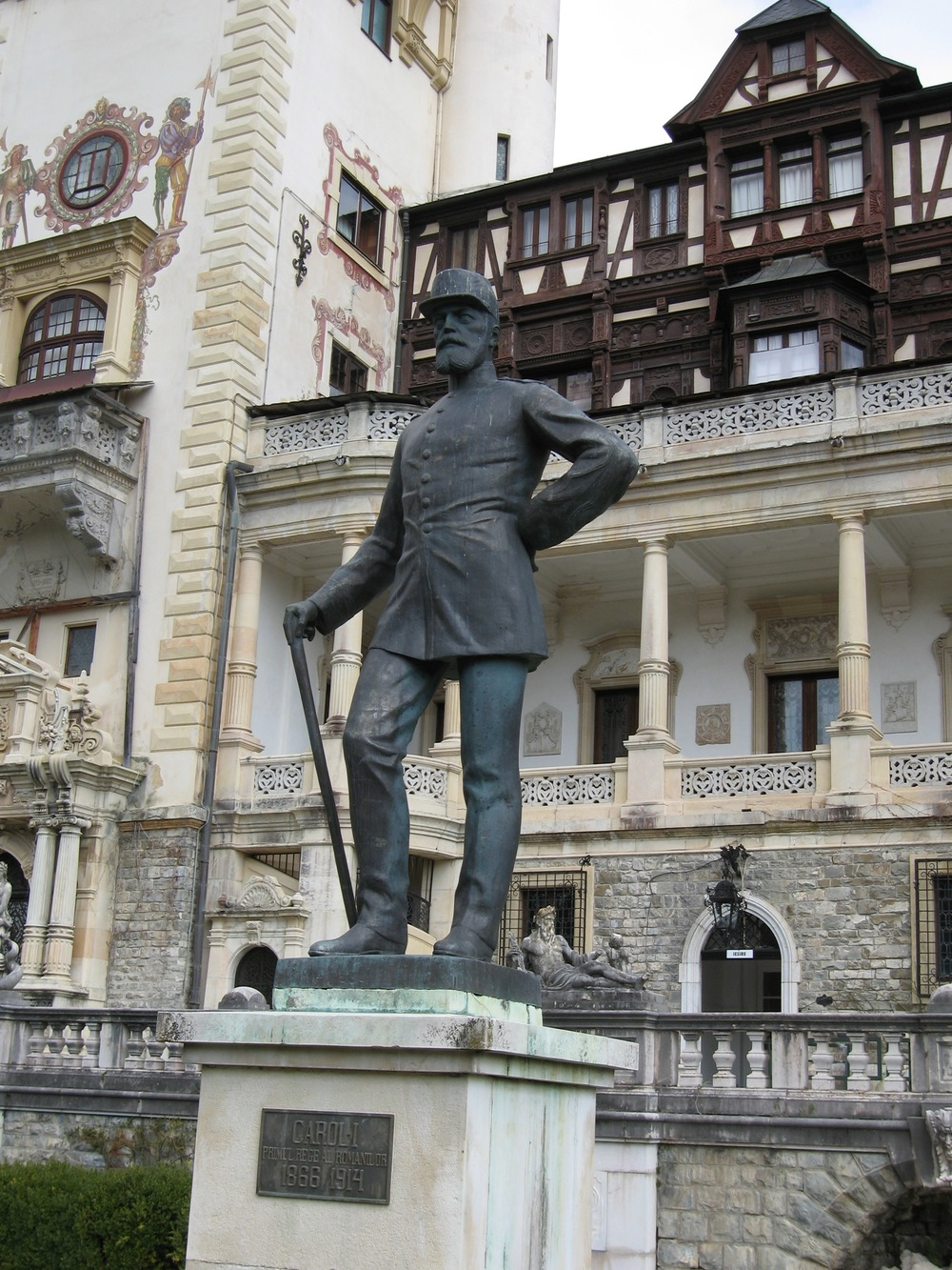 Statue of King Carol