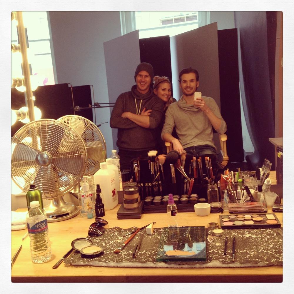 Backstage Shooting w/ David Heisler