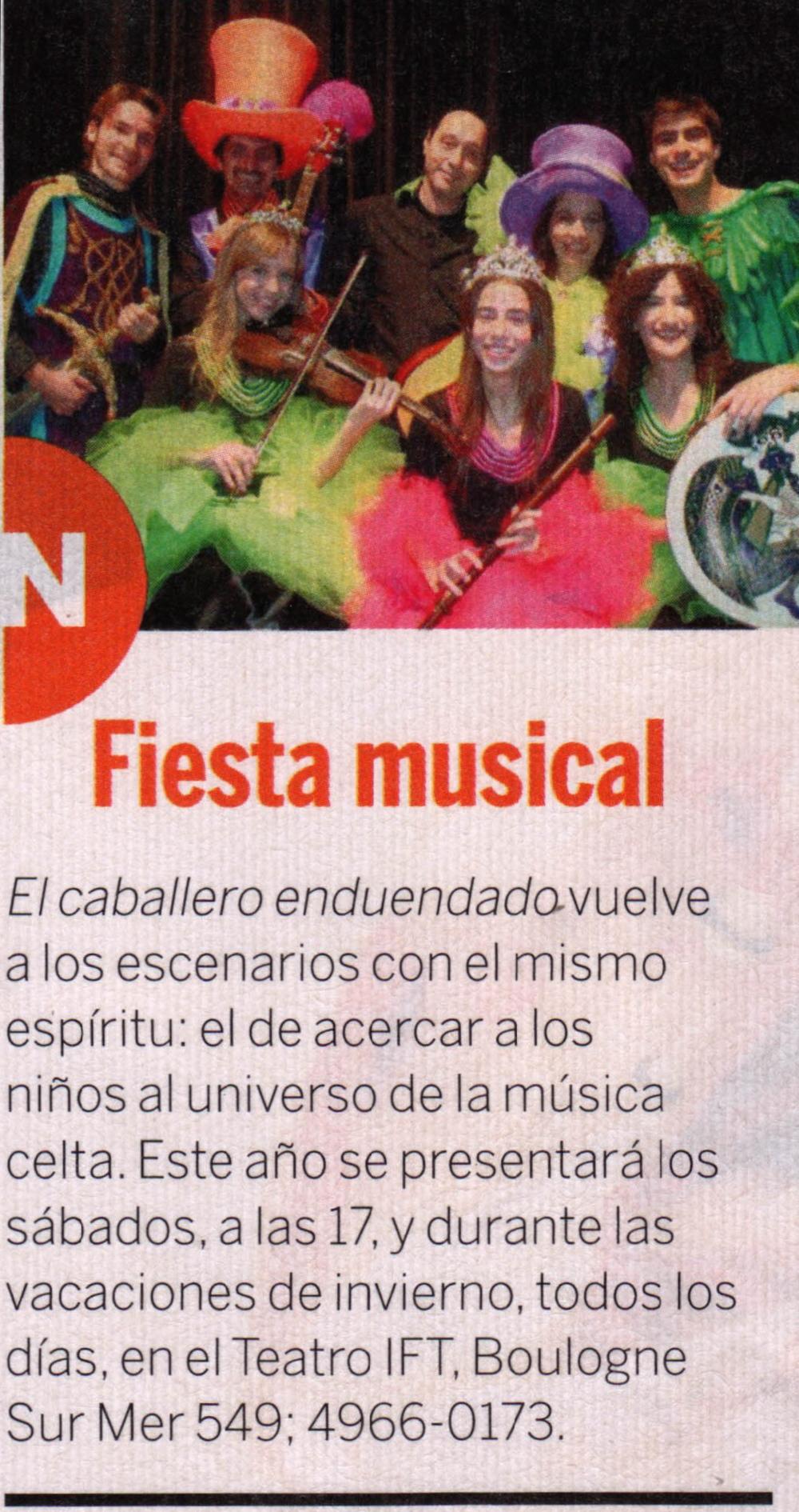 "Gerard Flores - ""Clarín"" (Argentinian Magazine)"