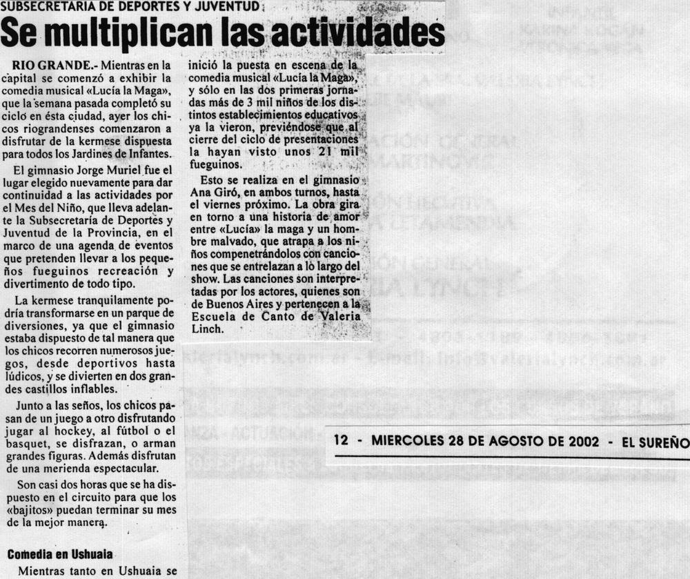 Gerard Flores en ¨Lucia ,la Maga¨(Diario¨El Sureño¨) 2.jpg