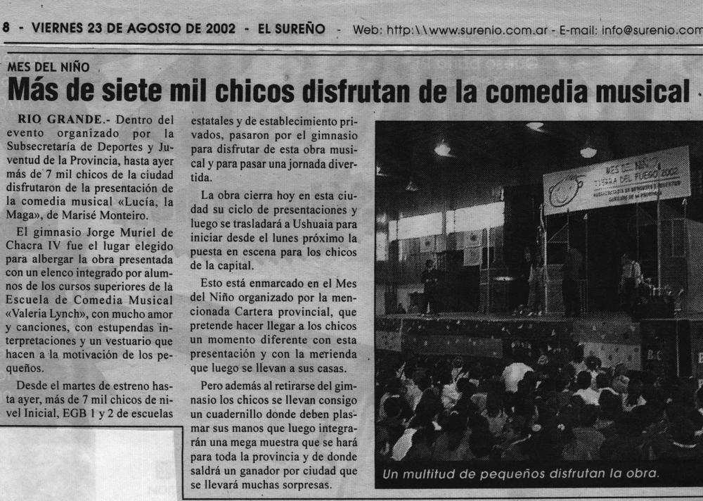 Gerard Flores en ¨Lucia ,la Maga¨(Diario¨El Sureño¨).jpg